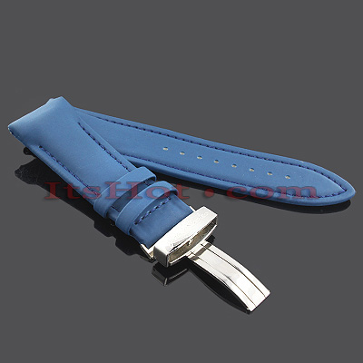 Polyurethane Watch Bands for Joe Rodeo Watches 26mm Blue Polyurethane Watch Bands for Joe Rodeo Watches 26mm Blue