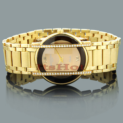 Raymond Weil 18K Gold Luxury Watches: Othello Ladies Diamond Watch 0.46ct raymond-weil-18k-gold-luxury-watches-othello-ladies-diamond-watch-046ct_1