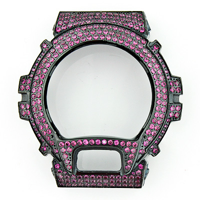Replacement G-Shock Bezel with Fuchsia Crystals  replacement-g-shock-bezel-with-fuchsia-crystals_1