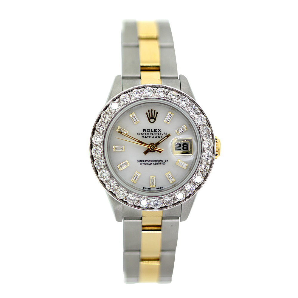 Rolex Datejust Ladies Diamond Bezel Watch 2.5ct  Main Image