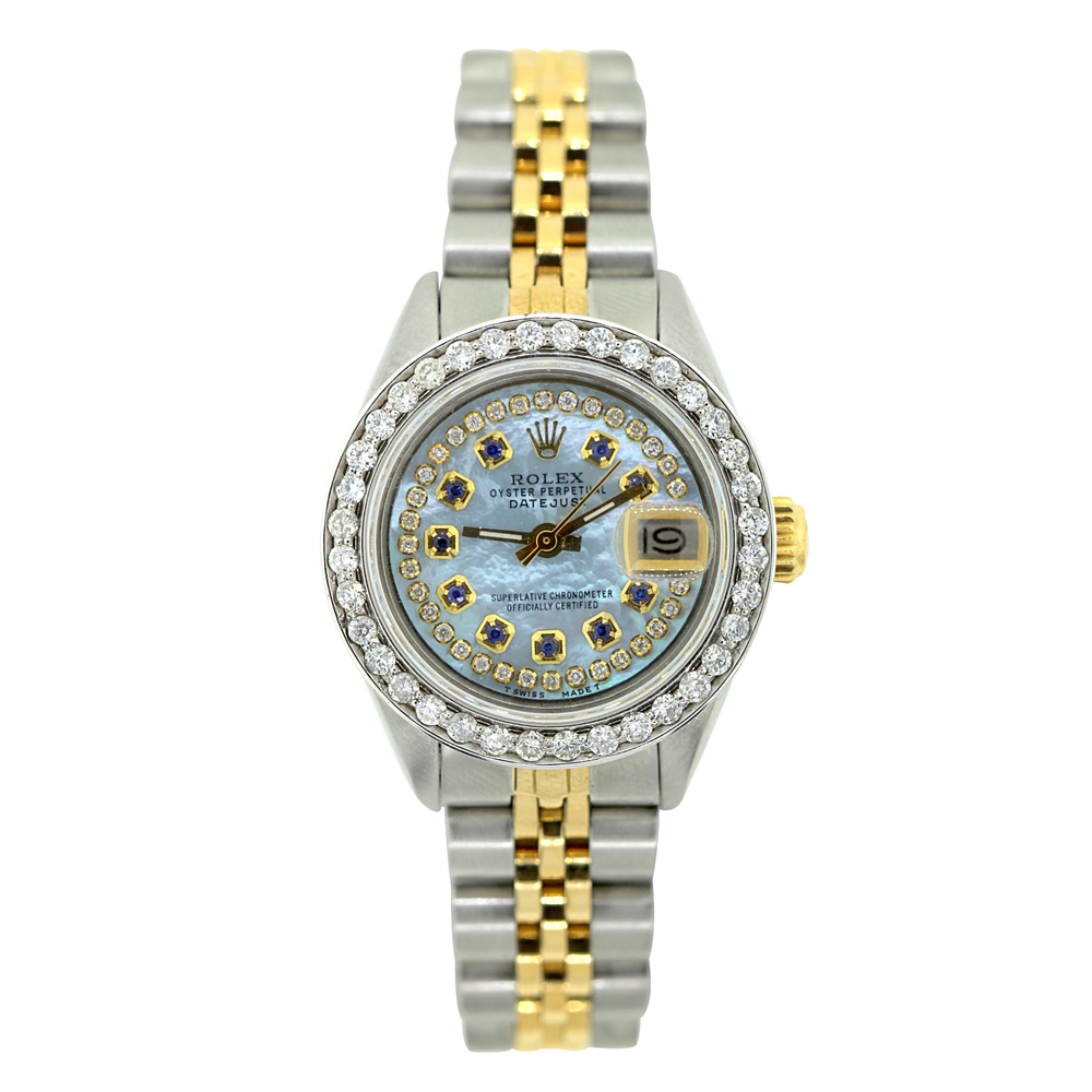 Rolex Datejust Ladies Diamond Watch 1.5 ct  Main Image