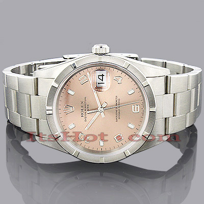Rolex Oyster Perpetual Datejust Mens Watch Main Image