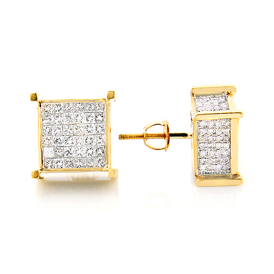yellow stud pair lex yellowgold cocktail style front earrings products diamond in martini diaboli gold