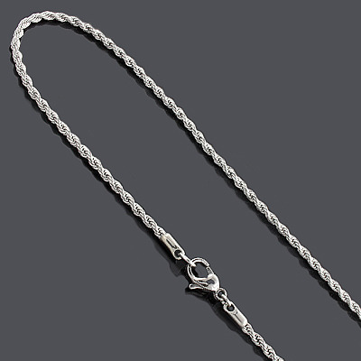 Stainless Steel Rope Chain 4mm