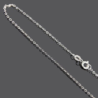 Sterling Silver Cable Chain 16 in Main Image