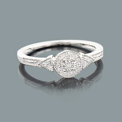 promise ring 0 05ct