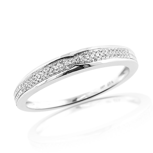 Thin Sterling Silver Mens Diamond Wedding Band 0.35ct sterling-silver-mens-diamond-wedding-band-035ct_1
