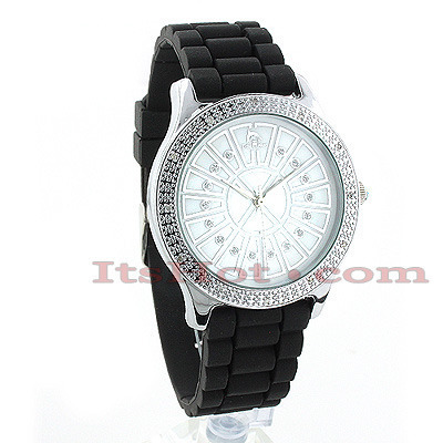 Techno Master Watches Ladies Diamond Watch 0.12ct Main Image