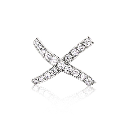 Tiffany & Co Jewelry: Tiffany & Co  Platinum Diamond Brooch 1.90ct Main Image
