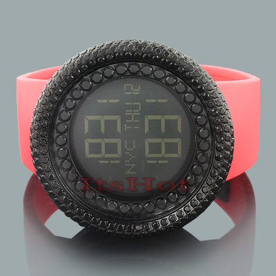 Trendy Hip Hop Watches: Jojino Black Crystal Watch  trendy-hip-hop-watches-jojino-black-crystal-watch_1