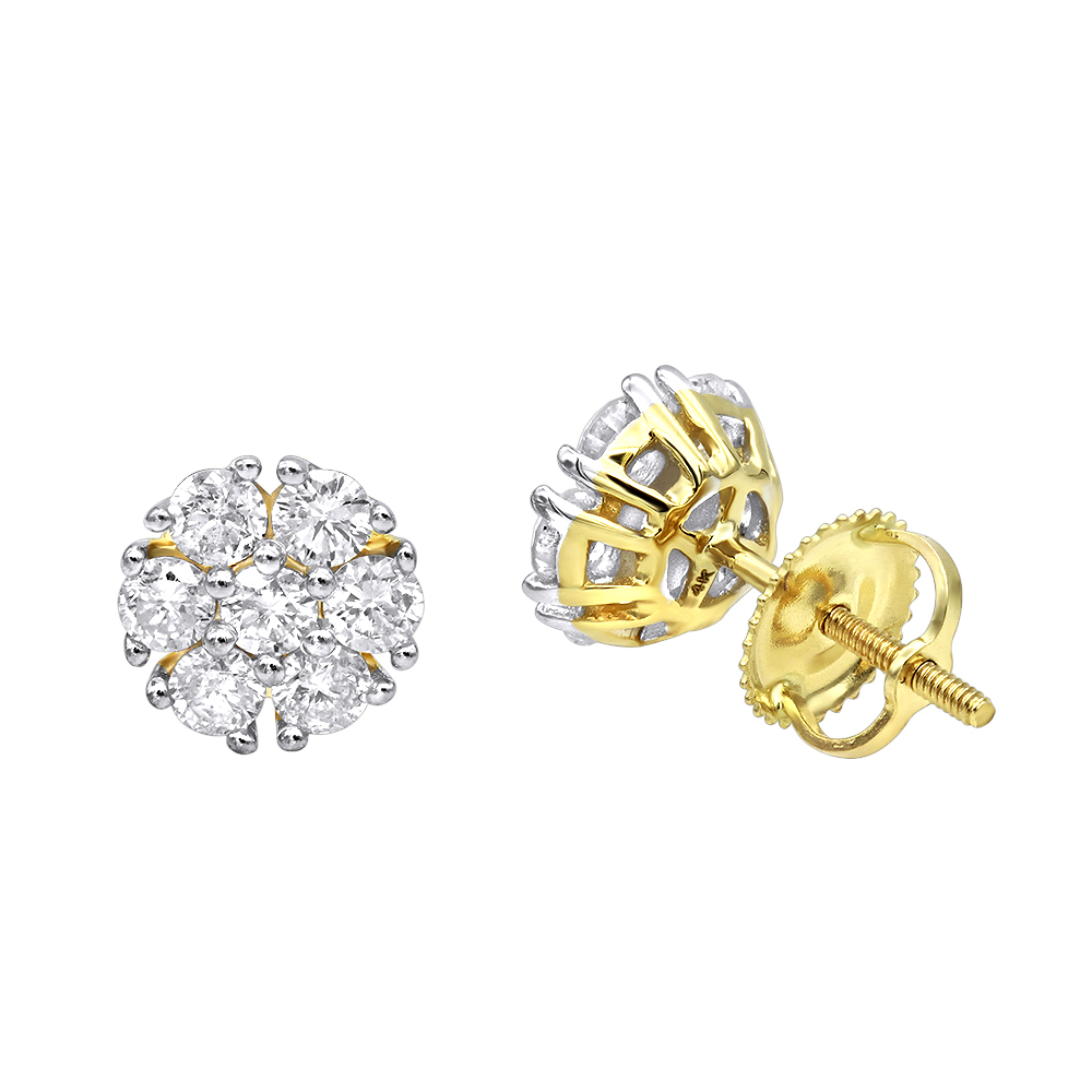 diamond round zoom hover earrings white mv carat to cut zm kay gold en kaystore tw ct