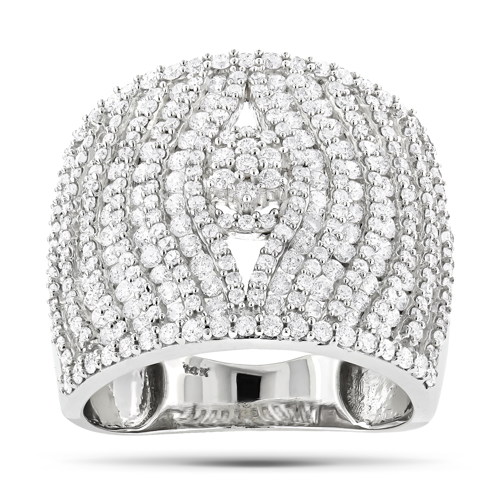 Unique Diamond Rings: 14K Round Diamond Ring 2 ctw White Image