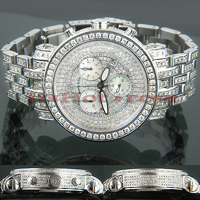 VS Diamond Benny and Co Watch Mens 20.25ct. Full Ice VS Diamond Benny and Co Watch Mens 20.25ct. Full Ice