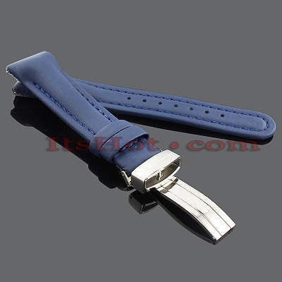 Watch Bands: Joe Rodeo Polyurethane Watch Band 20mm Blue Main Image