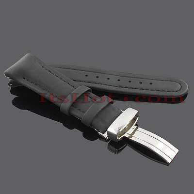 Watch Bands: Joe Rodeo Polyurethane Watch Band 22mm Black Main Image