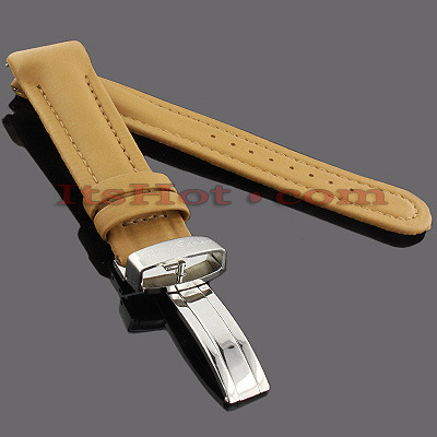 Watch Bands: Joe Rodeo Polyurethane Watch Band 22mm Camel