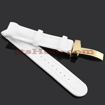 Watch Bands: Joe Rodeo Polyurethane Watch Band 22mm White Watch Bands: Joe Rodeo Polyurethane Watch Band 22mm White