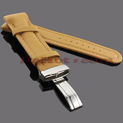 Watch Bands: Joe Rodeo Polyurethane Watch Band 24mm Camel Main Image