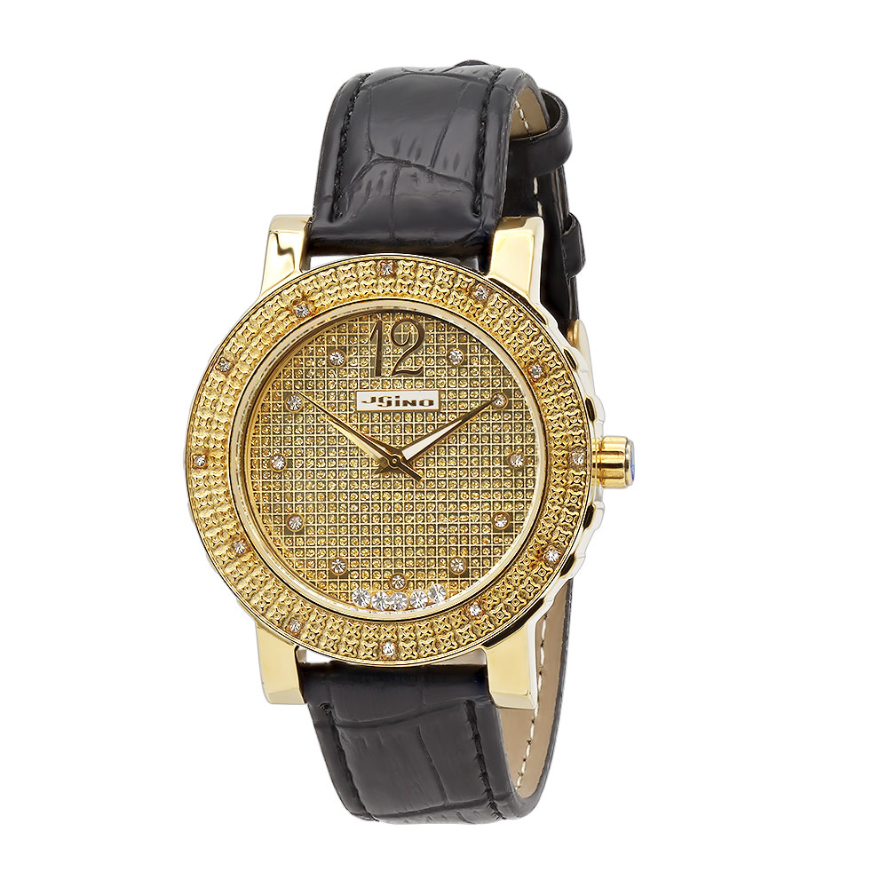 Iced Out JoJino Diamond Watch for Women with Floating Stones 0.12ct Main Image