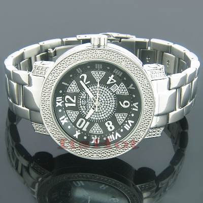 Wholesale Diamond Watches Super Techno Mens Watch 0.12