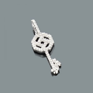 Diamond Key Pendants