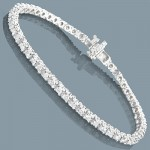 Choose from Exclusive Collection of Diamond Tennis Bracelets at ItsHot.com for Matchless Elegance