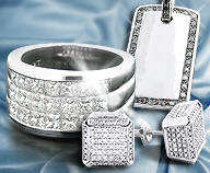 Find Your Dream Men's Diamond Jewelry Piece at ItsHot.com