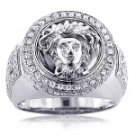 Sport Your Own Style with Men's Diamond Rings from ItsHot.com