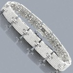 The Collection of Men's Diamond Bracelets at ItsHot.com, Simply the Best