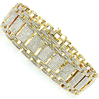 Make Your Man Feel Special with a Uniquely Designed Men's Diamond Bracelets from ItsHot.com
