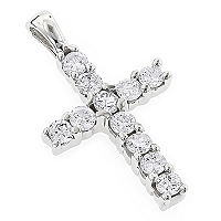 Get Trendy with Your Symbol of Belief by Getting Diamond Crosses at ItsHot.com