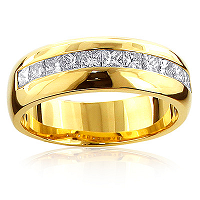 Celebrate the Love for Your Partner by Getting Diamond Wedding Bands from ItsHot.com