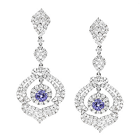 Make Her Go Head Over Heels for You by Getting Her Diamond Earrings from ItsHot.com