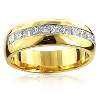 Express Your Eternal Love with a Diamond Wedding Band from ItsHot.com
