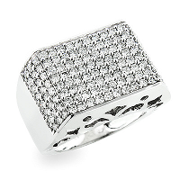 Get a Masculine Yet Sophisticated Gift for Your Man by Getting Men's Diamond Rings from ItsHot.com