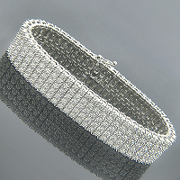 Add a Contemporary Style to Your Look with Men's Diamond Bracelets from ItsHot.com