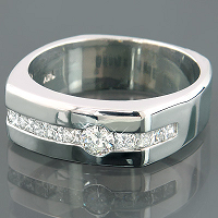 Diamond Wedding Bands from ItsHot.com: True Symbol of Love and Togetherness