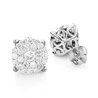 Show off your personality with Women's Men's Diamond Earrings from ItsHot.com