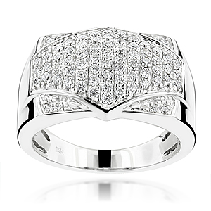 Seal Your Commitment with a Men's Diamond Ring from ItsHot.com