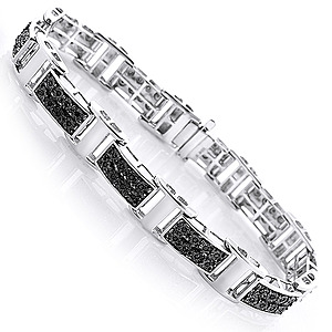 A Sparkling collection of Men's diamond jewelry from ItsHot.com