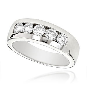 Express Eternal Love for your better half with Men's Diamond Wedding Rings from ItsHot.com