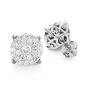 Men's Diamond Earrings from ItsHot.com: A Unique Gift to Boost Your Partner's Charisma