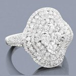 designer right hand diamond ring