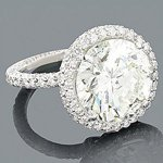 18k diamond engagement rings