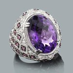 gemstone jewelry: ladies diamond ring